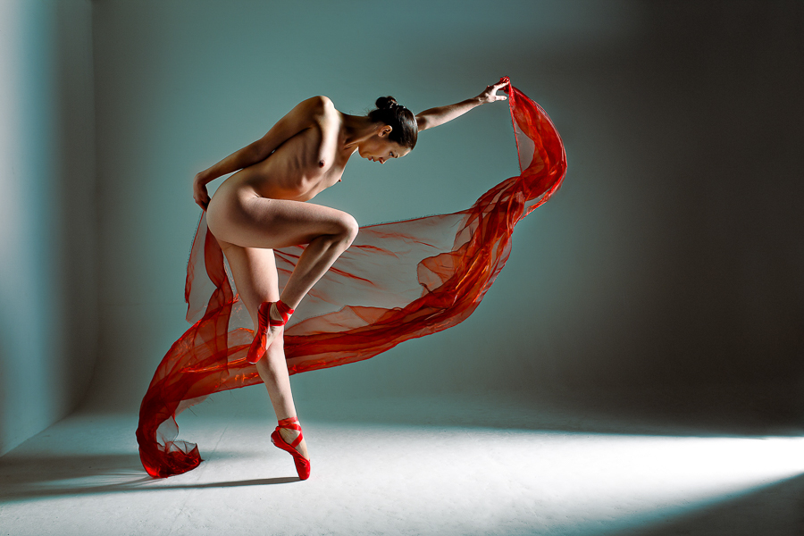 Expression on Pointe by Richard Spurdens, England