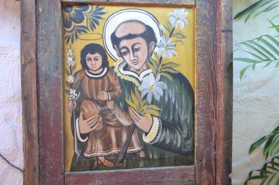 fresco on building