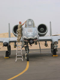 A10 Attack Helicopter