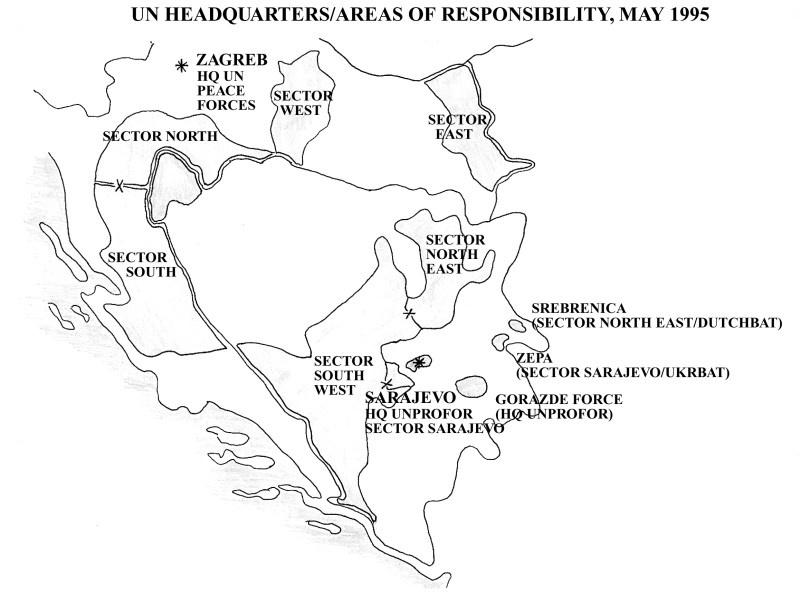 UN Peace Forces, May 1995