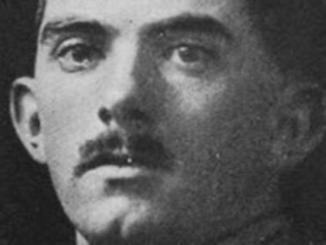 John Llewellyn Evans was shot dead as he led a raid on Vimy Ridge amid a barrage of poison gas