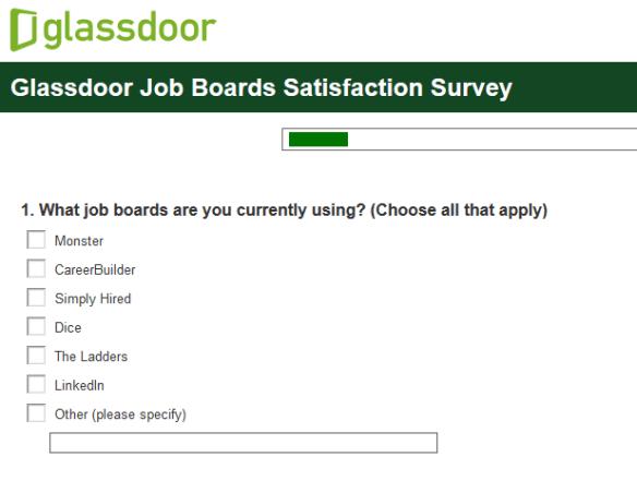 Glassdoor survey