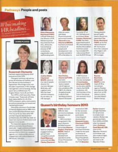 People Management August 2013 - People and Posts