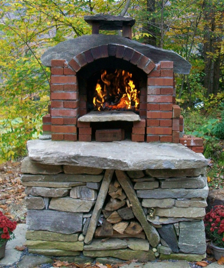 Creating an Outdoor Pizza Oven | Tim Seals Stone on Outdoor Patio With Pizza Oven  id=90188
