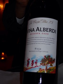 La Rioja Alta, Vina Alberdi Reserva, 2009
