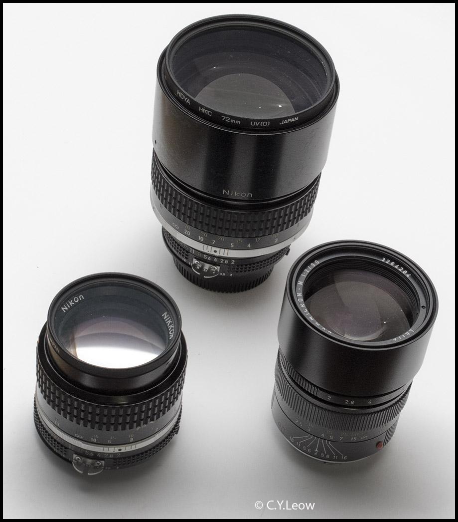 3 lenses