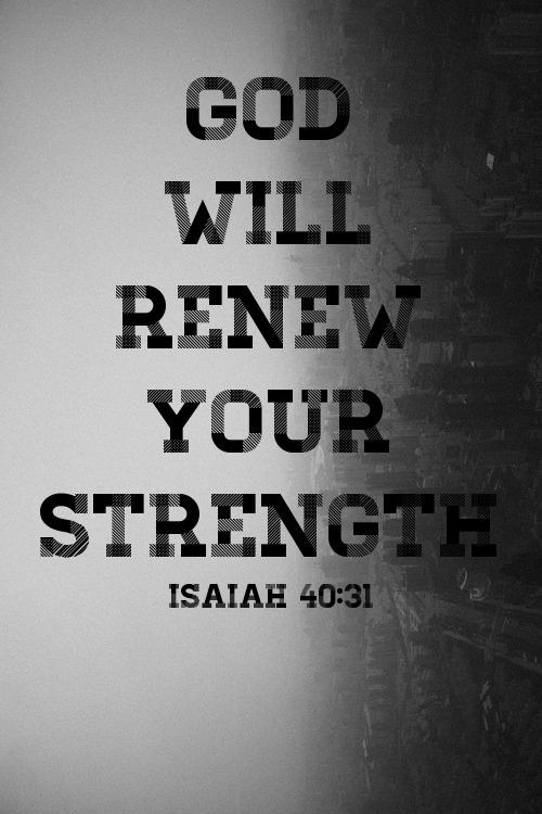 renew your strength