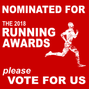 Click to vote for timsrunningworld.com in The Running Awards 2018!
