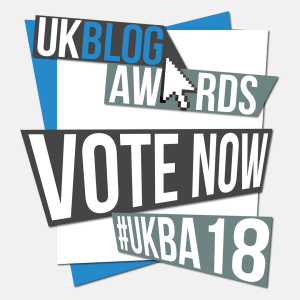 Please vote for timsrunningworld.com in the UK Blog Awards 2018!