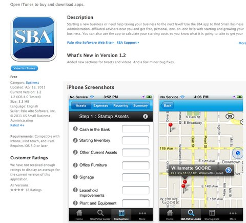 The Brand New SBA iPhone App is Released - Tim Berry