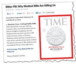 Soaring Health Care Costs Time Magazine Bitter Bill