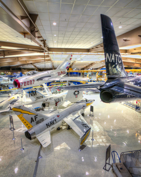 Planes, planes and more planes. Just when you think you've seen one of everything, you turn the corner and there's another piece of history. The  National Naval Aviation Museum in Pensacola, Florida has one of the greatest collections of aviation history, concentrating on those flown by the U.S. Navy. Photo by Tim Stanley Photography.