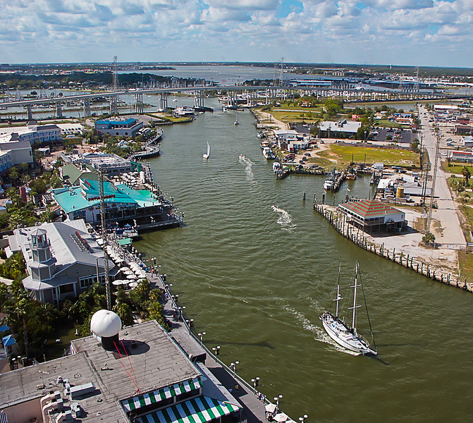 Between Galveston and the Houston Ship Channel lies the suburb of Kemah. Most of us know it for the waterway that opens up into Clear Lake and for the Kemah Boardwalk. Photo by Tim Stanley Photography.