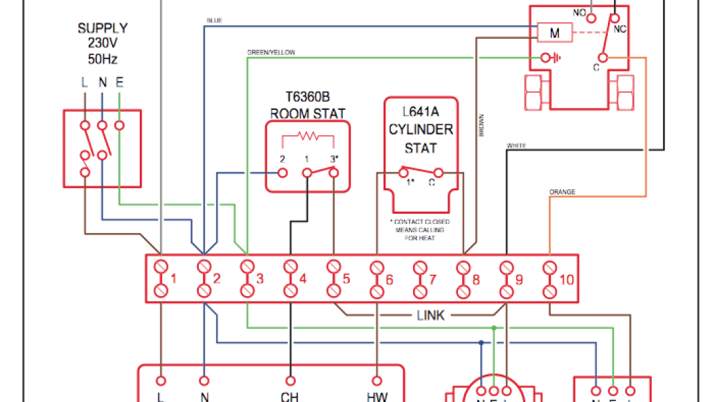 Cool Domestic Central Heating System Wiring Diagrams C W Y S Plans Wiring Digital Resources Remcakbiperorg