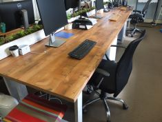 Reclaimed Oregon office table