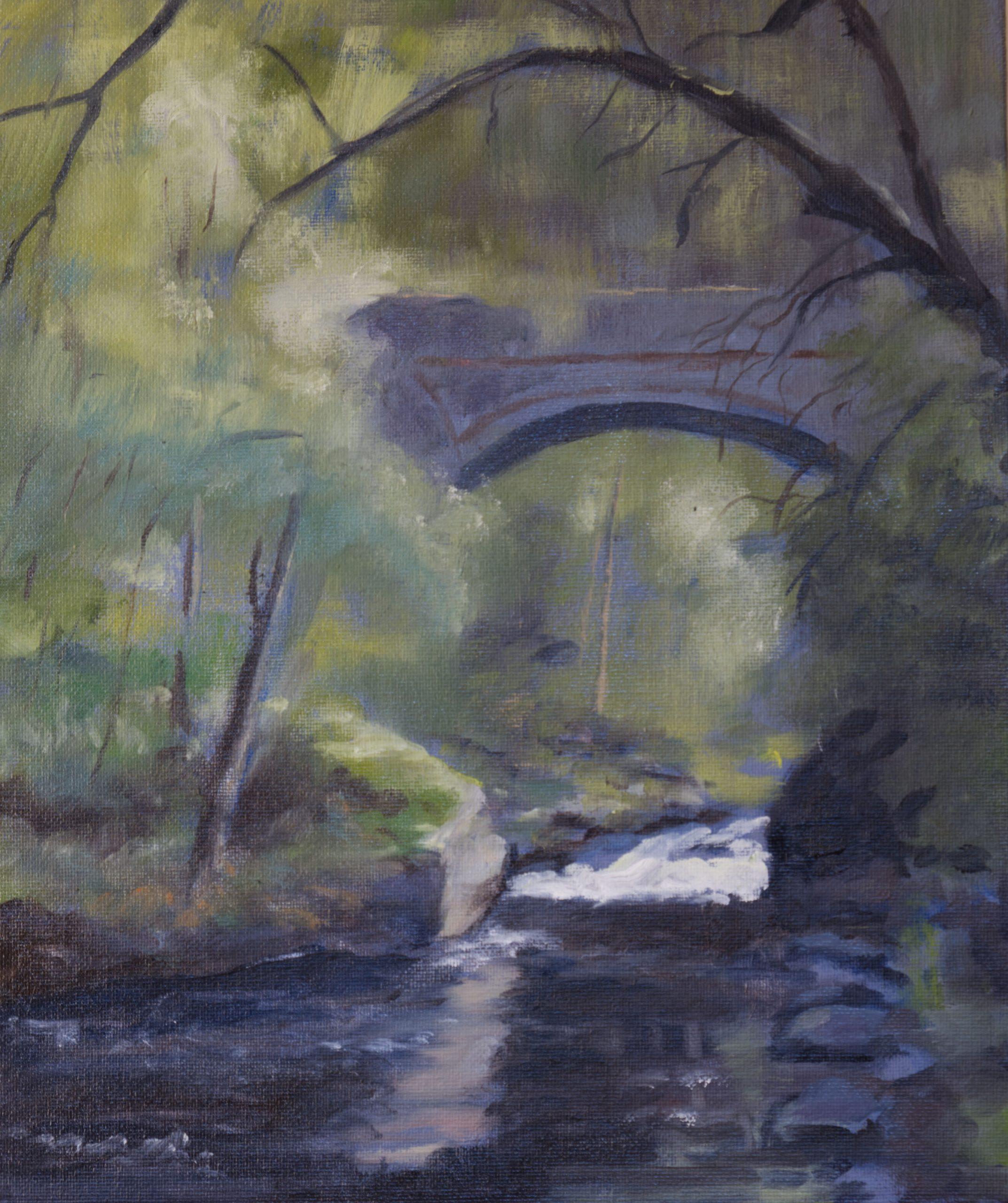 painting oil landscape Tim Turnbull