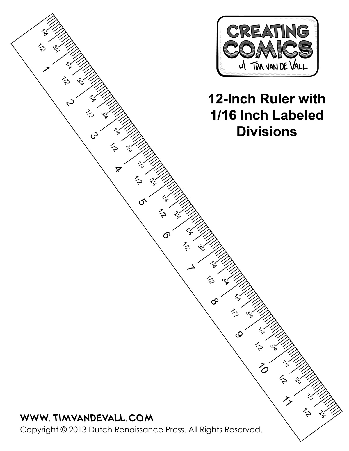 Free Download Program Template Of A Ruler In Centimeters