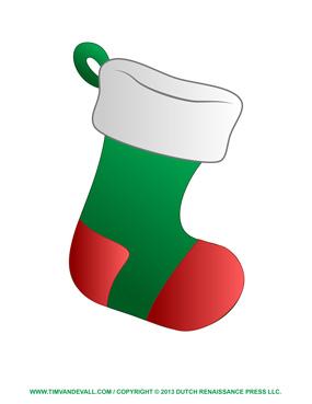 Christmas Stocking Template