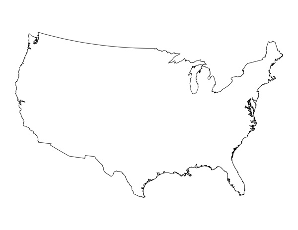 Read on to learn more about m. Blank Map Of The United States Printable Usa Map Pdf Template