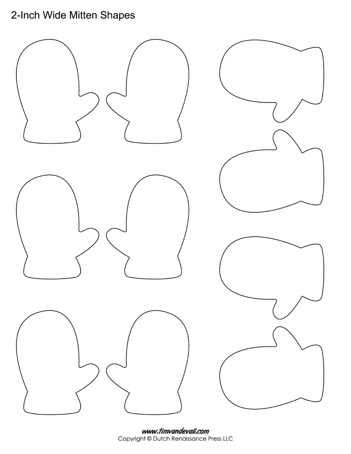 Preschool Mitten Shape Worksheet Preschool Best Free