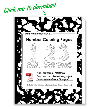 Number-Coloring-Pages-PDF-Cover