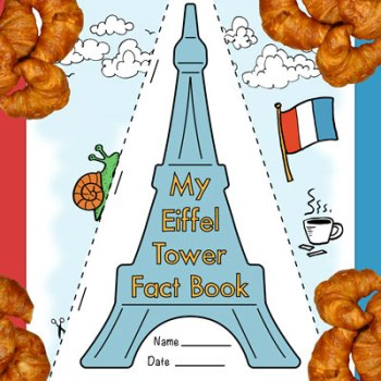 Eiffel Tower Fact Booklet