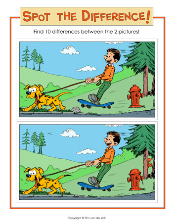Spot the Difference! Find 10 Differences