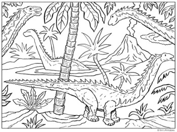 diplodocus-coloring-page