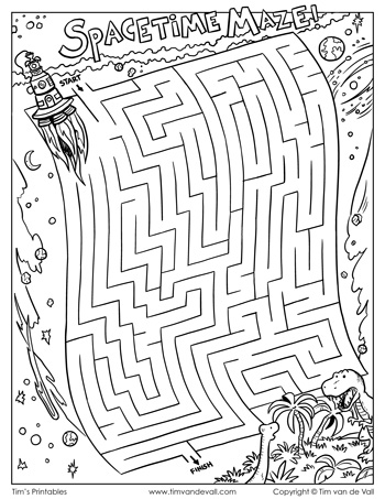 spacetime maze