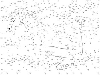unicorn dot-to-dot