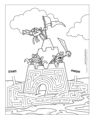 Maze Piicture