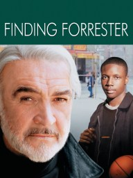 Cover of the movie Finding Forrester, a quote is mentioned below.