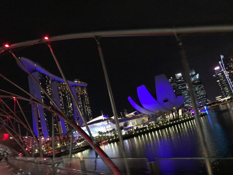 Marina Bay Singapore futuristisch