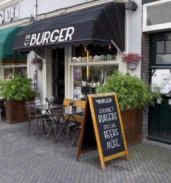 De Burger restaurant - Kerkstraat Eindhoven