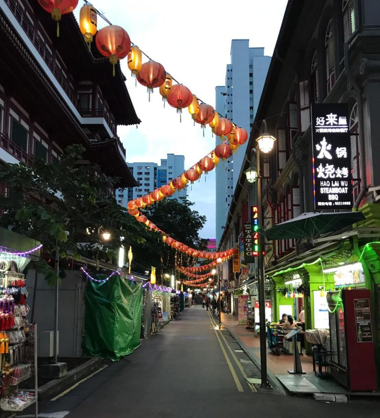 Chinatown Singapore saamhorigheid