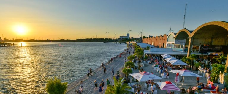 bocadero zomer chillout 't eilandje antwerpen