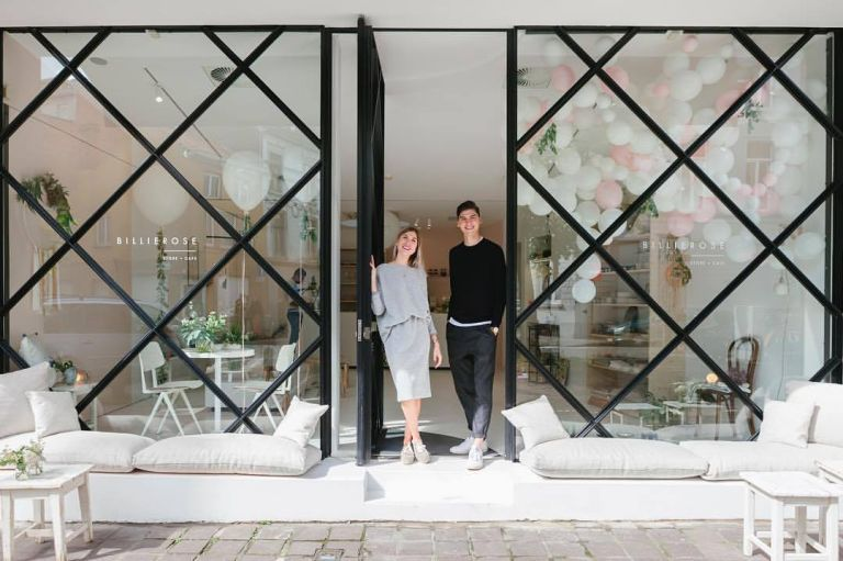 Billierose conceptstore en café, de mooiste in Gent