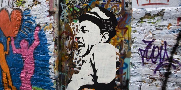 Bezoek het kleurrijke Graffiti straatje in Gent