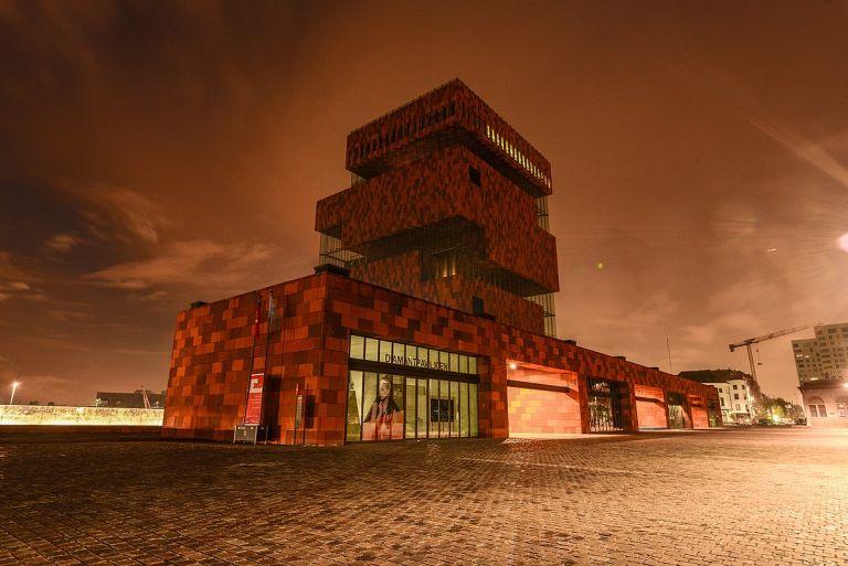 Mas museum doen antwerpen noord 't eilandje