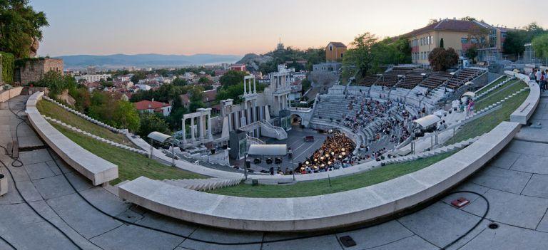The Roman Amphitheatre in Plovdiv doen