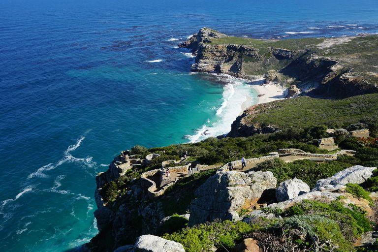 Ga naar schiereiland Cape Point kaap de goede hoop