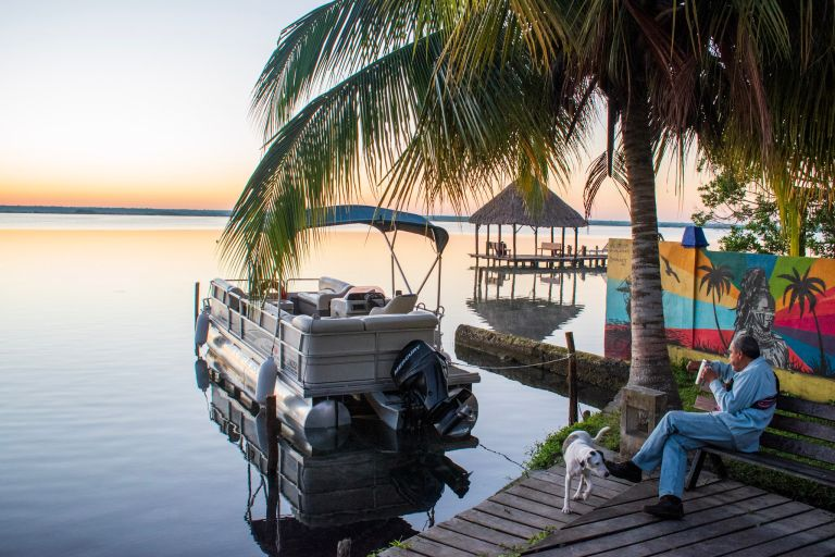 Laidpack vibe in Bacalar