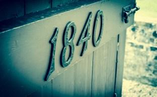 Door number 1840