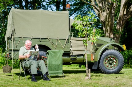Llanyrafon Manor - WWII Event, Cwmbran