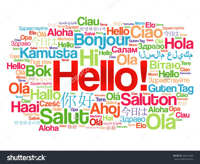 Hi Hallo Salut