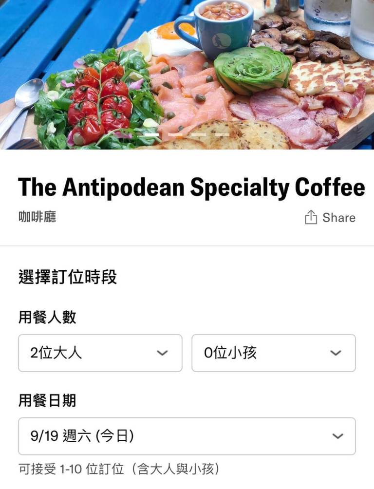 The Antipodean Specialty Coffee