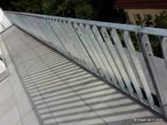 Das lange Geländer