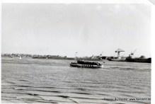 Blick über die Elbe 60er Jahre (Pap215)
