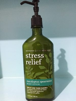 Bath and Body Works Aromatherapy Stress Relief Lotion