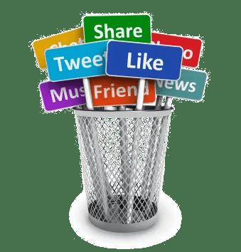 Share, like, tweet - social media networking